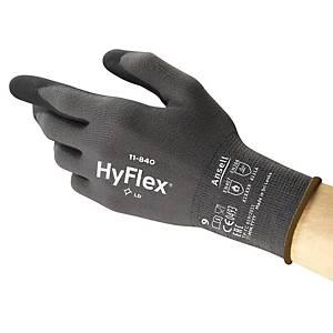 Ansell HyFlex® 11-840 kesztyű precíziós munkákhoz, méret 9