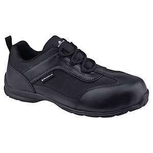 Bezpečnostná obuv DELTAPLUS BIG BOSS, S1P SRC, veľkosť 43, čierna