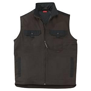 Lafont Work Attitude bodywarmer brown/black - size 5