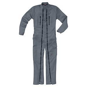 Lafont Work overall double zipper steelgrey - size 5