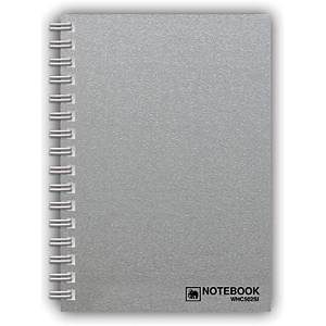 ELEPHANT WHC-502 WIREBOUND NOTEBOOK A5 70G SILVER 150 SHEETS