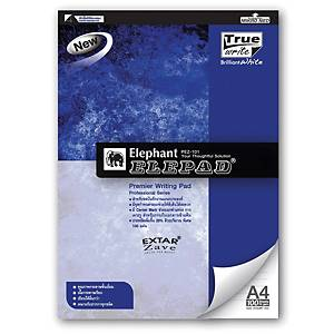 ELEPHANT PEZ-101 REPORT PAD A4 70G RULED 100 SHEETS