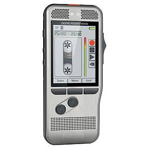 Dictaphone Philips Pocket Memo DPM7200, deux micro., carte mémoire SDHC 8 Go