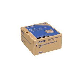 Epson AL-C9300N Twinpack Toner Cartridge Black