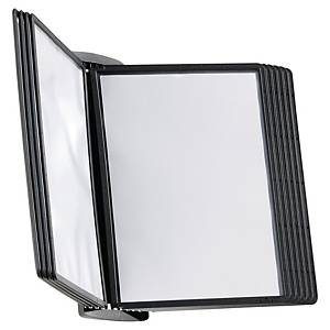 Durable Sherpa Style Wall 10 Display Panel System Black