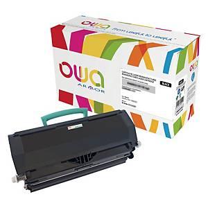 Cartouche de toner Owa compatible équivalent Lexmark E460X21E/E460X11E - noire