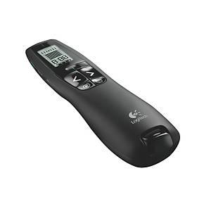 Presenter Logitech R700, wireless, 2,4-GHz, Reichweite: 30m, schwarz
