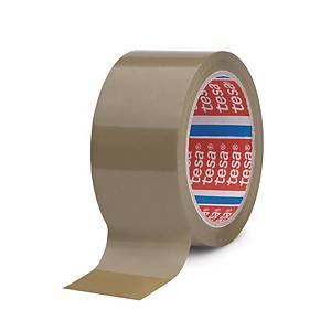 Tesapack® 4089 PP tape, bruin, 50 mm x 66 m, per 6 rollen tape