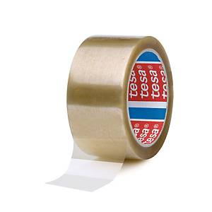 Tesa 4089 PP packaging tape 50 mm x 66 m transparent - pack of 6
