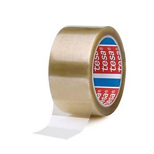 Tesapack® 4089 PP tape, transparant, 50 mm x 66 m, per 6 rollen tape