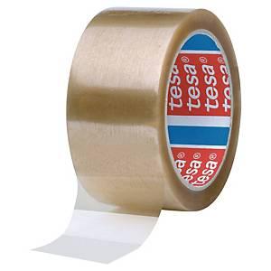 Pack de 6 fitas adesivas de embalagem Tesa 4089 - 50 mm x 66 m - transparente