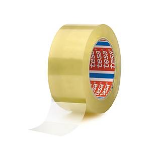 Tesa® 4280 PP tape, transparant, 50 mm x 66 m, per 6 rollen tape