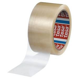 Pack de 6 fitas adesivas de embalagem Tesa 4280 - 50 mm x 66 m - transparente