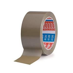 Tesa 4120 PVC ruban adhésif 75 mm x 66 m brun - paquet de 4