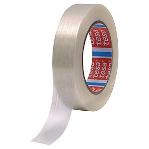 Tesa 4590 reinforced packaging tape 50 mm x 50 m - pack of 3