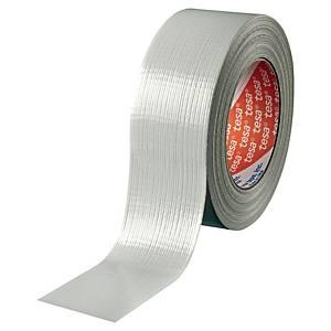 Lærredstape Tesa 4662, 48 mm x 50 m, sølv