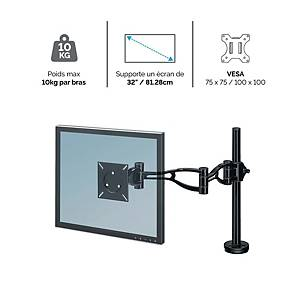 Fellowes 8041601 Depth Adjustable Monitor Arm