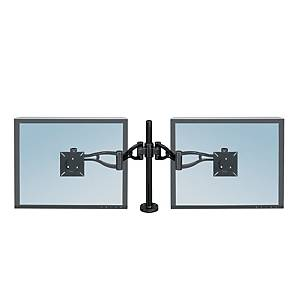 Fellowes 8041701 Dual/Depth Adjustable Monitor Arm