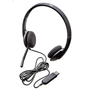 Casque d'écoute Logitech H340 duo/stéréo, USB-A
