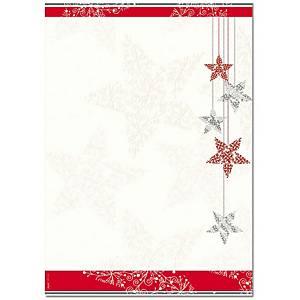 Papier design Sigel Starlets A4, 90 g/m2, paq. 25unités