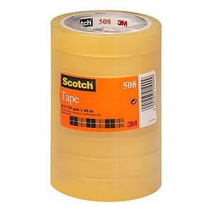 Nastro adesivo trasparente Scotch® 508 L 66 m x H 19 mm - conf. 8