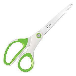 Ciseaux Leitz WOW, longueur 20,5 cm, blanc/vert