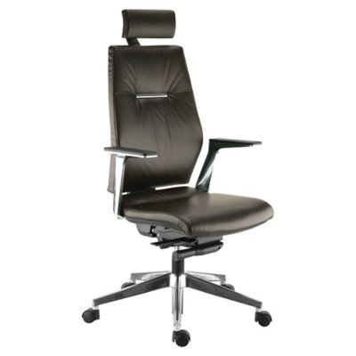FAUTEUIL DE DIRECTION CUIR SEDNA SYSTˆME SYNCHRONE TETIERE