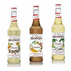 Monin Sirup Set Vanille, Caramel und Amaretto, je 2.5 dl