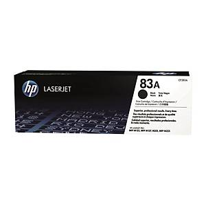 HP CF283A LaserJet Toner Cartridge (83A) - Black