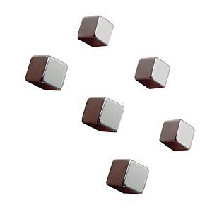Sigel Superdym vahva magneetti hopea, 1 kpl=6 magneettia