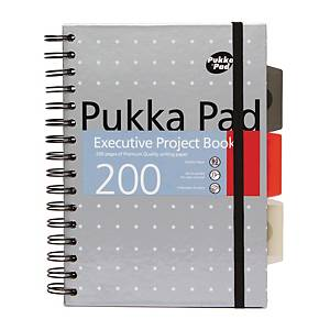 Pukka Executive Project Books Pack of 3 A5