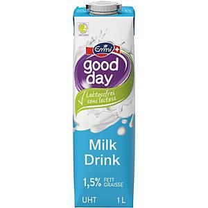 Lait entier UHT sans lactose Emmi Good Day 1l