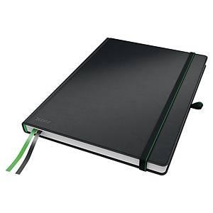 Anteckningsbok Leitz Complete, A4, linjerad, svart