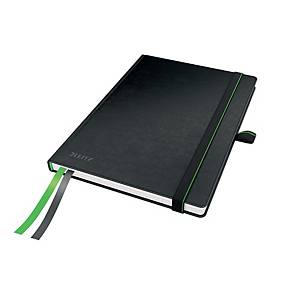 LEITZ COMPLETE NOTEBOOK A5 RULED BLACK