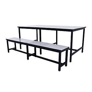 APEX โต๊ะอาหาร สีขาว