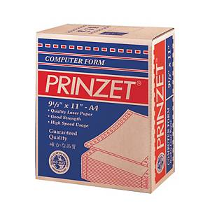 Prinzet White A4 Computer Form 1Ply