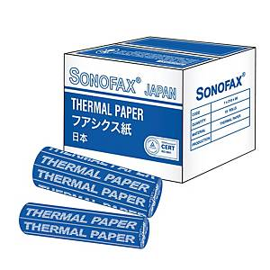 Prinzet Thermal Fax Roll 210mm X 30m X 0.5 Inches Short Length