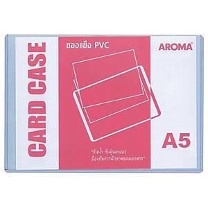 AROMA ซองพลาสติกใสแข็ง ขนาด A5