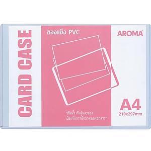 AROMA ซองพลาสติกใสแข็ง ขนาด A4