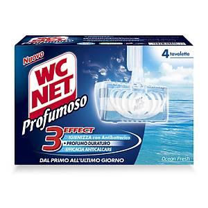 Tavoletta solida WC Net profumoso ocean fresh - conf. 4