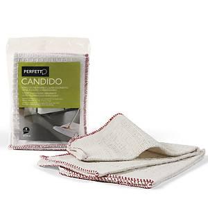 Strofinacci per pavimenti Candido Perfetto in cotone - conf. 2