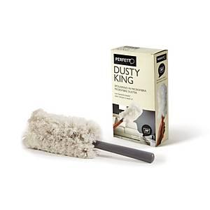 Piumino per polvere Dusty King Perfetto in microfibra + 3 ricambi