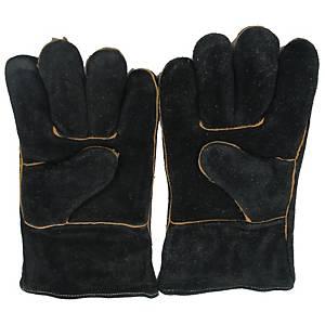 ถุงมือ 13 นิ้ว สีดำ 1 คู่