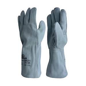 ถุงมือ 13 นิ้ว เทา 1 คู่