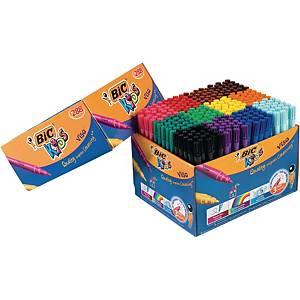 Bic Kids Visa feutres couleurs assorties - le paquet de 288