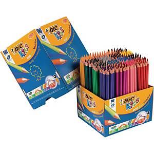 Farveblyanter BIC Kids Evolution, pakke a 288 assorterede farver