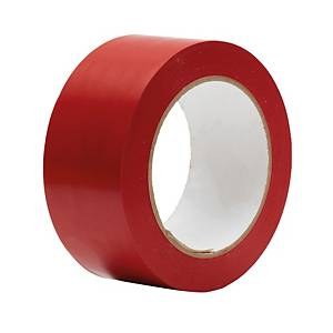 WARNING TAPE 48 MILLIMETRES X 33 METRES RED