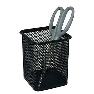 Deli Square Pen Holder Black
