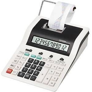 Citizen CX123N rekenmachine met printer en telrol, 12 cijfers