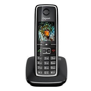 Gigaset C530 vezeték nélküli telefon, fekete